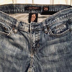- Women's Ed Hardy jeans